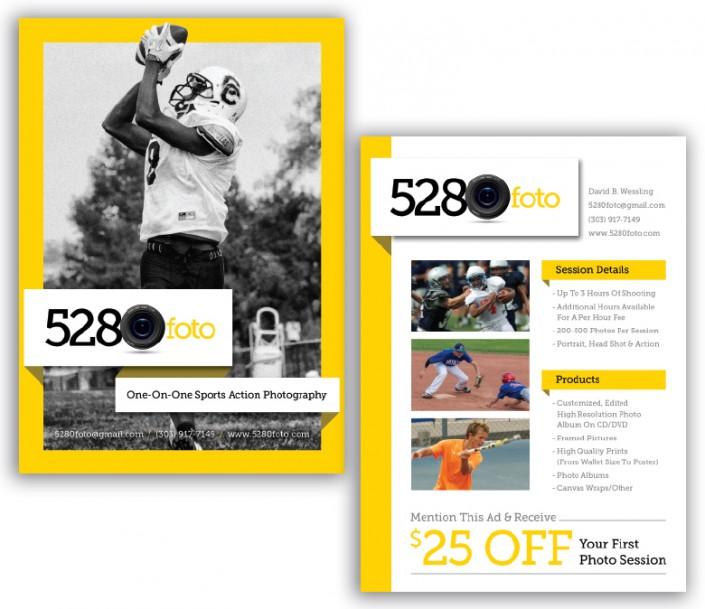 5280Foto Sports Flyer Design