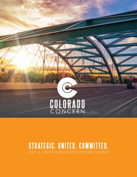 Colorado Concern brochure cover design