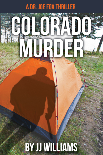 Colorado Murder book cover design
