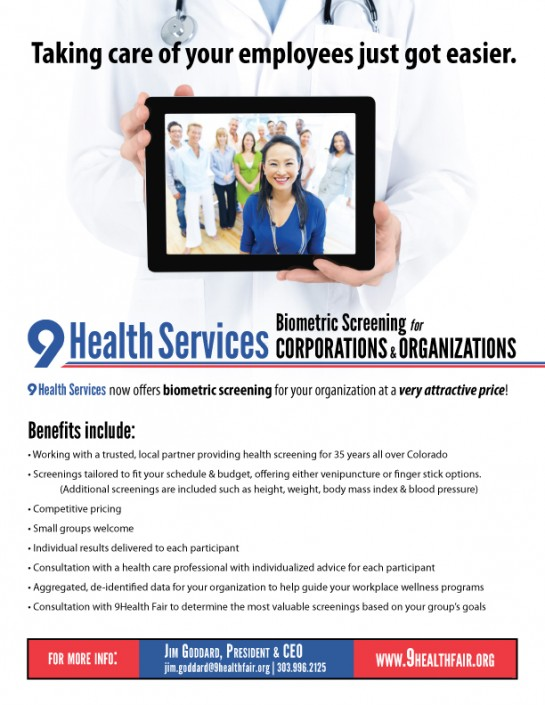 9 Health Corporate Flyer Design