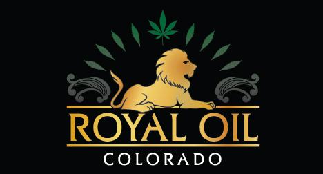 Royal Oil Colorado CBD logo design