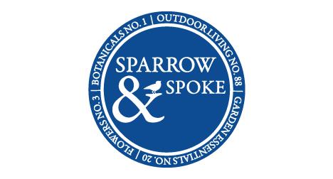 Sparrow and Spoke logo design