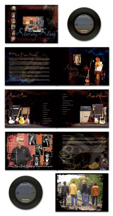 Sterling Stray band promo design
