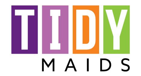 Tidy Maids Colorado logo design