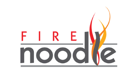 Fire Noodle logo design