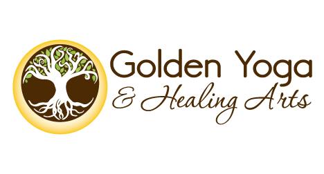 golden-yoga-&-Healing-Arts-logo-design