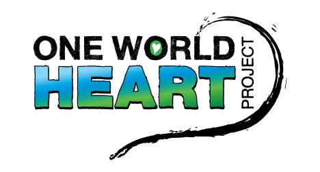 one-world-heart-project-logo-design