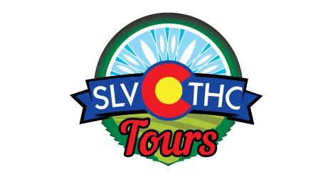 SLV THC Tours logo design