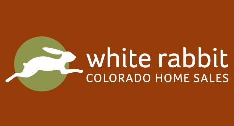 White Rabbit Real Estate Colorado logo design