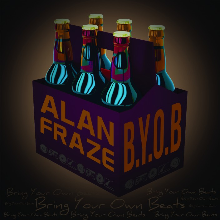 Alan Fraze BYOB Album Cover Design