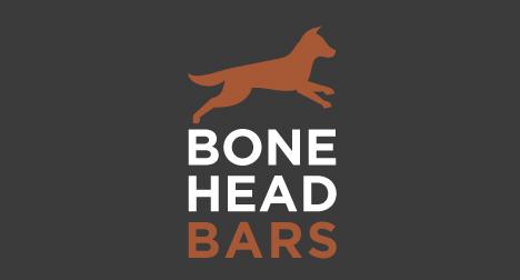 Bonehead Bars logo design