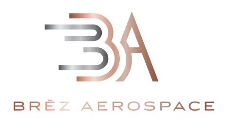 Brez Aerospace logo design