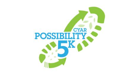 CYAR 5k logo design