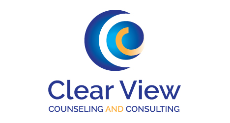 Clear View Counseling logo design