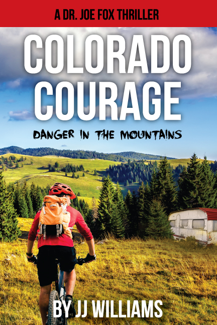Colorado Courage book cover design