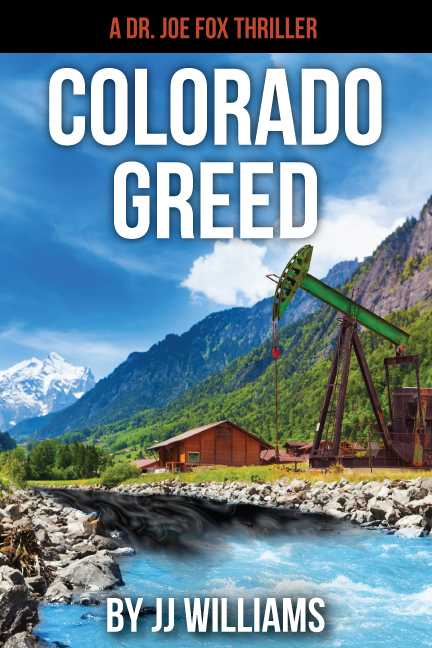 Colorado Greed book cover design
