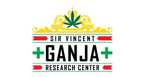 Ganja Research Center logo design