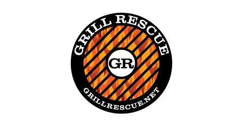 Grill Rescue logo design