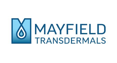 Mayfield Transdermals logo design