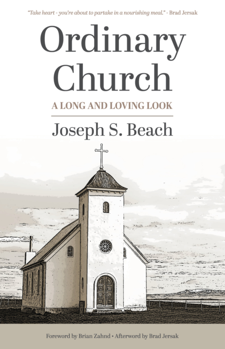 Ordinary Church book cover design
