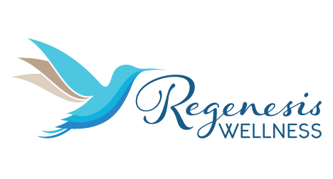 Regenesis Wellness logo design