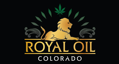 Royal Oil Colorado CBD logo design