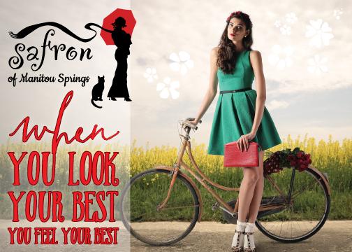 Safron Postcard Design