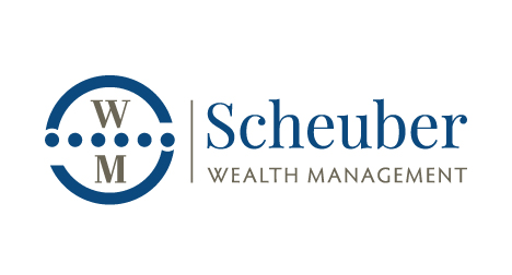Scheuber Wealth Management logo design