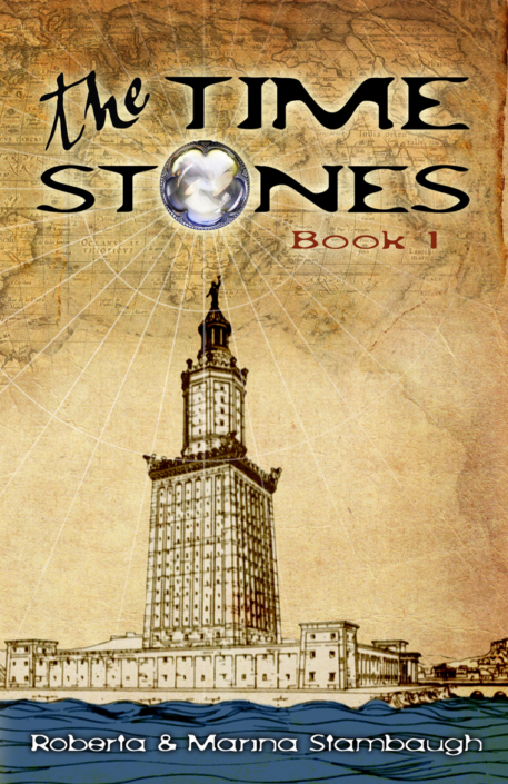The Time Stones book cover design