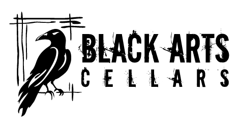 Black Arts Cellars Denver logo design