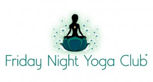 Friday Night Yoga Club logo design Denver