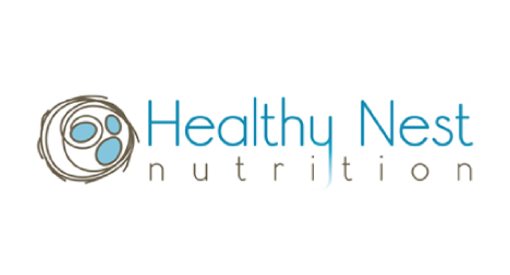 Healthy Nest Nutrition logo design