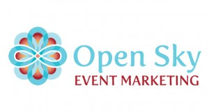 Open Sky Event Marketing logo design