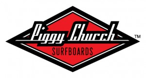 Piggy Church Surfboards Logo Design