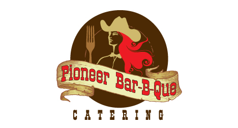 Pioneer Bar-B-Que logo design