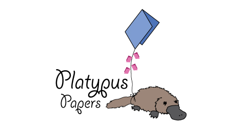 Playtpus Papers logo design