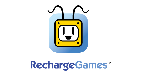 Recharge Games logo design