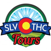 SLV THC Tours logo design