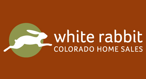 White Rabbit Real Estate Colorado logo design
